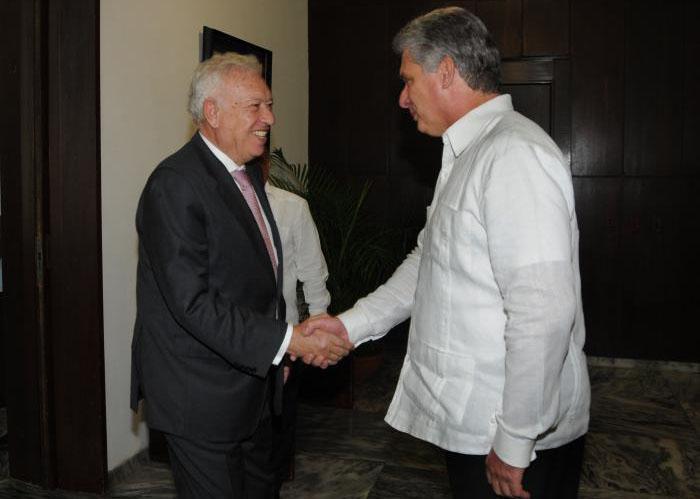 spanischer Außenminister José Manuel García-Margallo