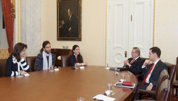 Yoani Sánchez und Orlando Luis Pardo Lazo