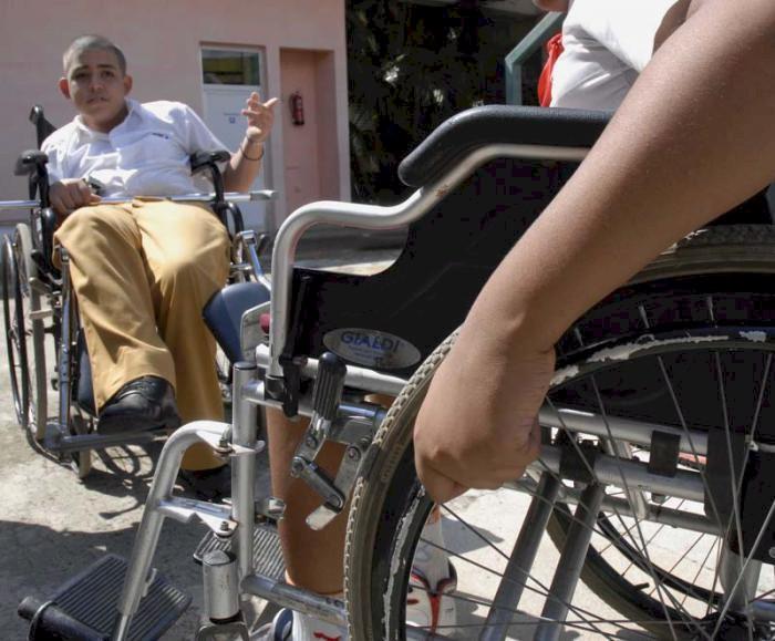 Blockade verhindert den Erwerb von Rollstühlen