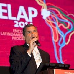 Treffen der linken und progressiven Kräfte in Quito