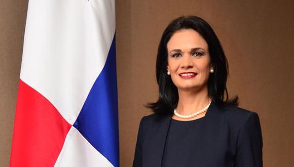 Außenministerin Panamas Isabel de Saint Malo