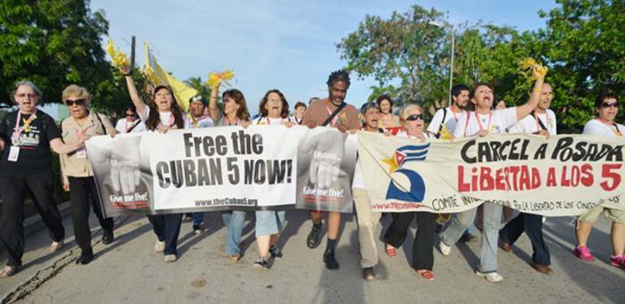 Solidarität mit den Cuban Five