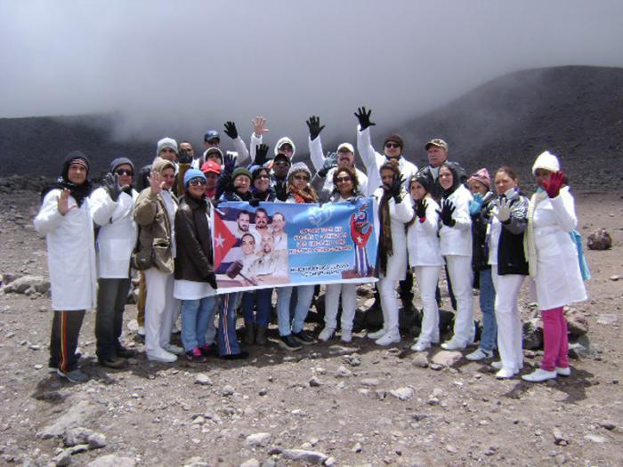Vulkan Chimborazo