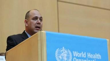 kubanischer Minister für Gesundheitswesen, Roberto Morales Ojeda